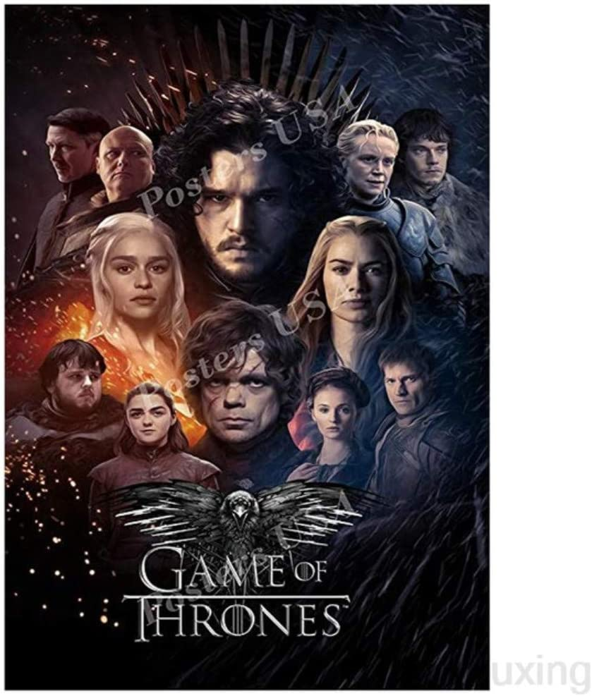 5D Diamond Painting Full Drill Kits DIY Game of Thrones Mosaic Decoration Gift