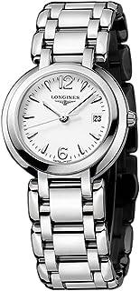 Longines - Reloj Analógico para Mujer de Cuarzo con Correa en Acero Inoxidable L81124166