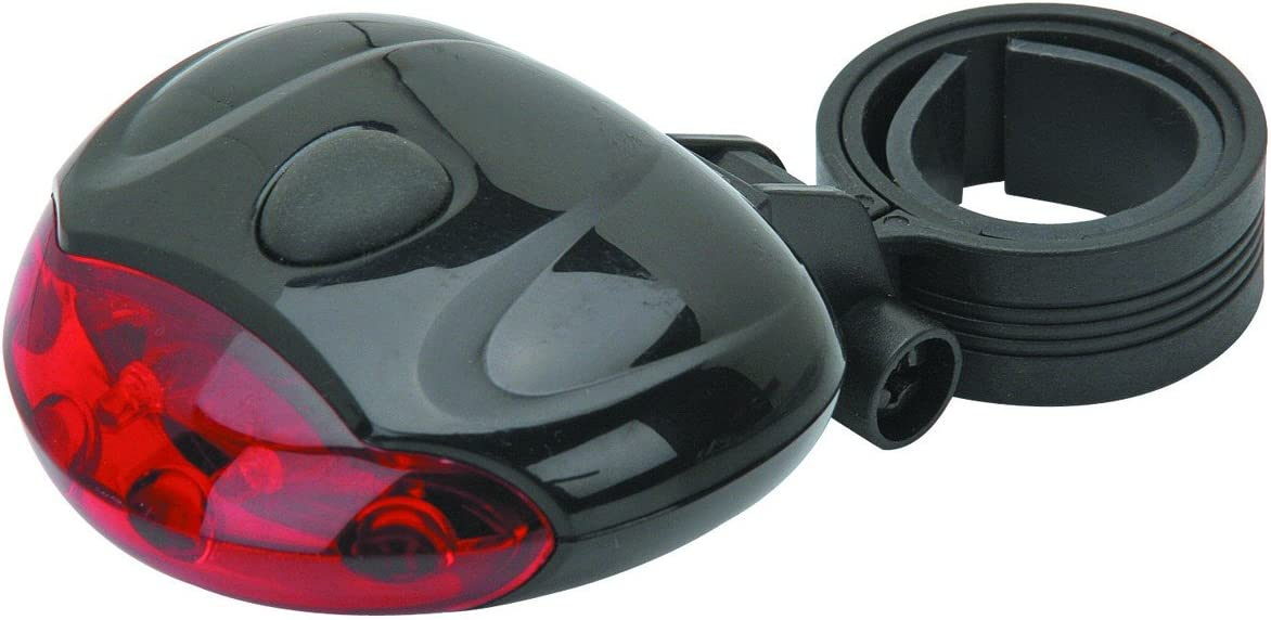 LED Bicycle Bike Taillight 3 Modes w Flashing On or Steady Incl Special sale item Columbus Mall