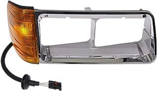 Dorman 889-5207 Passenger Side Headlight Bezel for Select Freightliner Models, Chrome