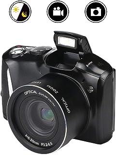 Mengen88 Cámara réflex Digital 24 Millones HD Pixel Home 16X Zoom SLR cámara de vídeo Soporte de Disparo de Modo múltiple con función de Disparo Continuo de Alta Velocidad