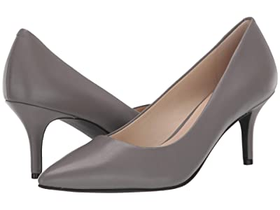 Cole Haan Marta Pump WP 65 mm (Quiet Shade WP Leather) Women