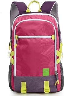 mochilas montaña Deportes y ocio al aire libre los hombres y las mujeres del bolso del alpinismo de senderismo mochila 40L Mochilas de marcha ( Color : Rosa Roja , Tamaño : 40L )