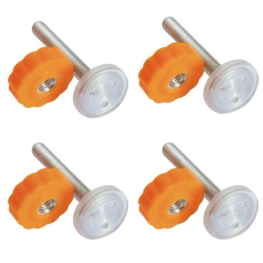 光沢のあるレタッチライオンXigeapg 4個 圧力赤ちゃんゲートねじネジ付き スピンドルロッド 歩行スルーゲートアクセサリー - M10×10ミリメートル