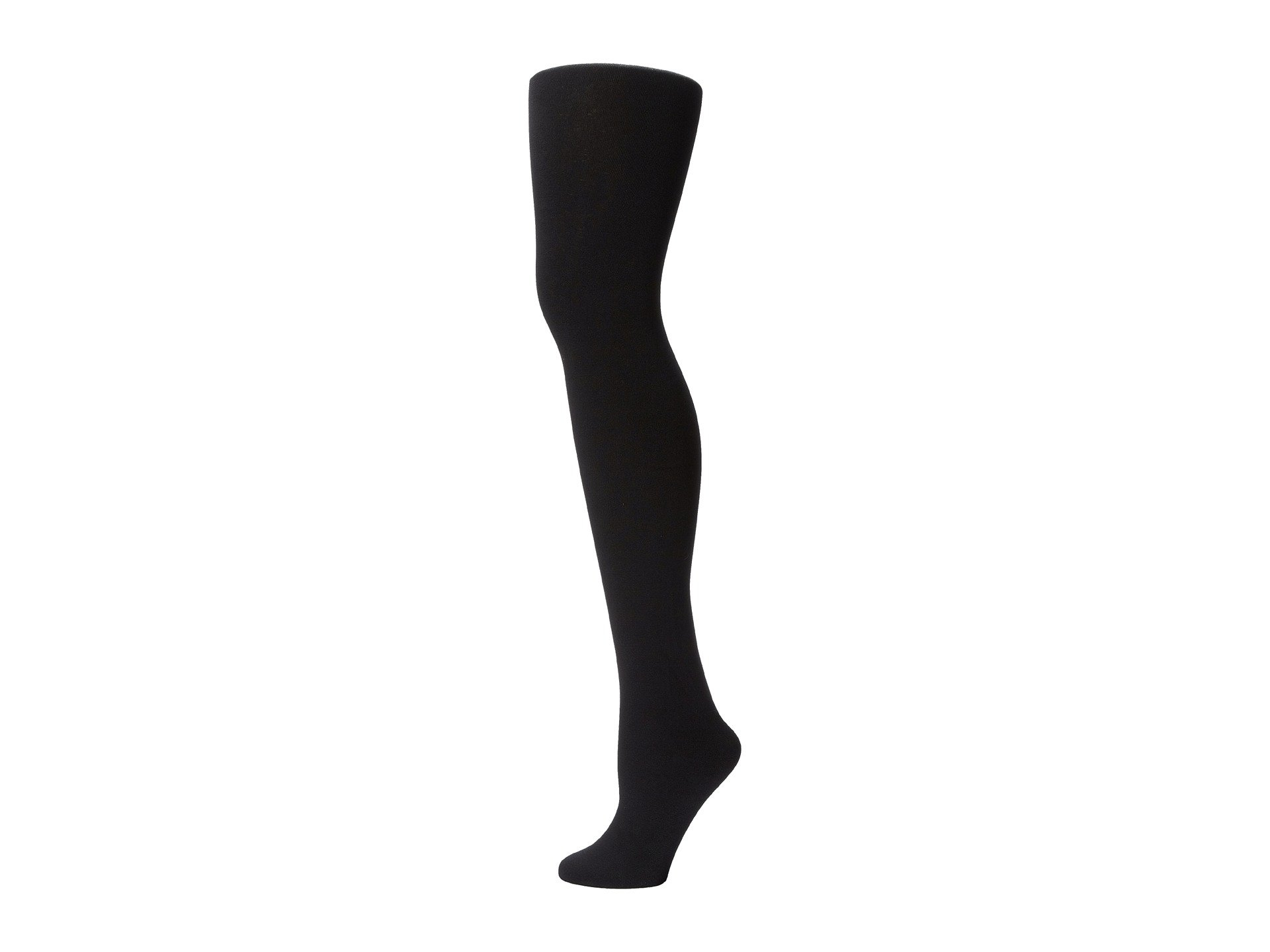 2 Tights lined Foot Full Black Plush Fleece IFAOxFY