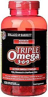 Holland & Barrett Holland & Barrett Maximum Strength Triple Omega 369 Capsules, 120 count