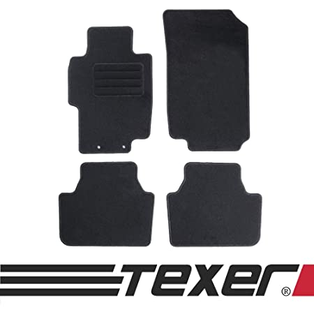 Carmat Texer Textil Fußmatten Passend Für Honda Accord Vii Bj 2002 2008 Basic Auto