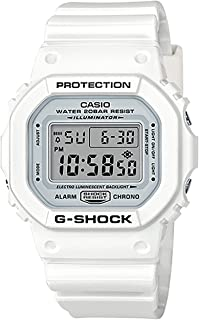 Casio G-Shock 5600, White, onesize M US