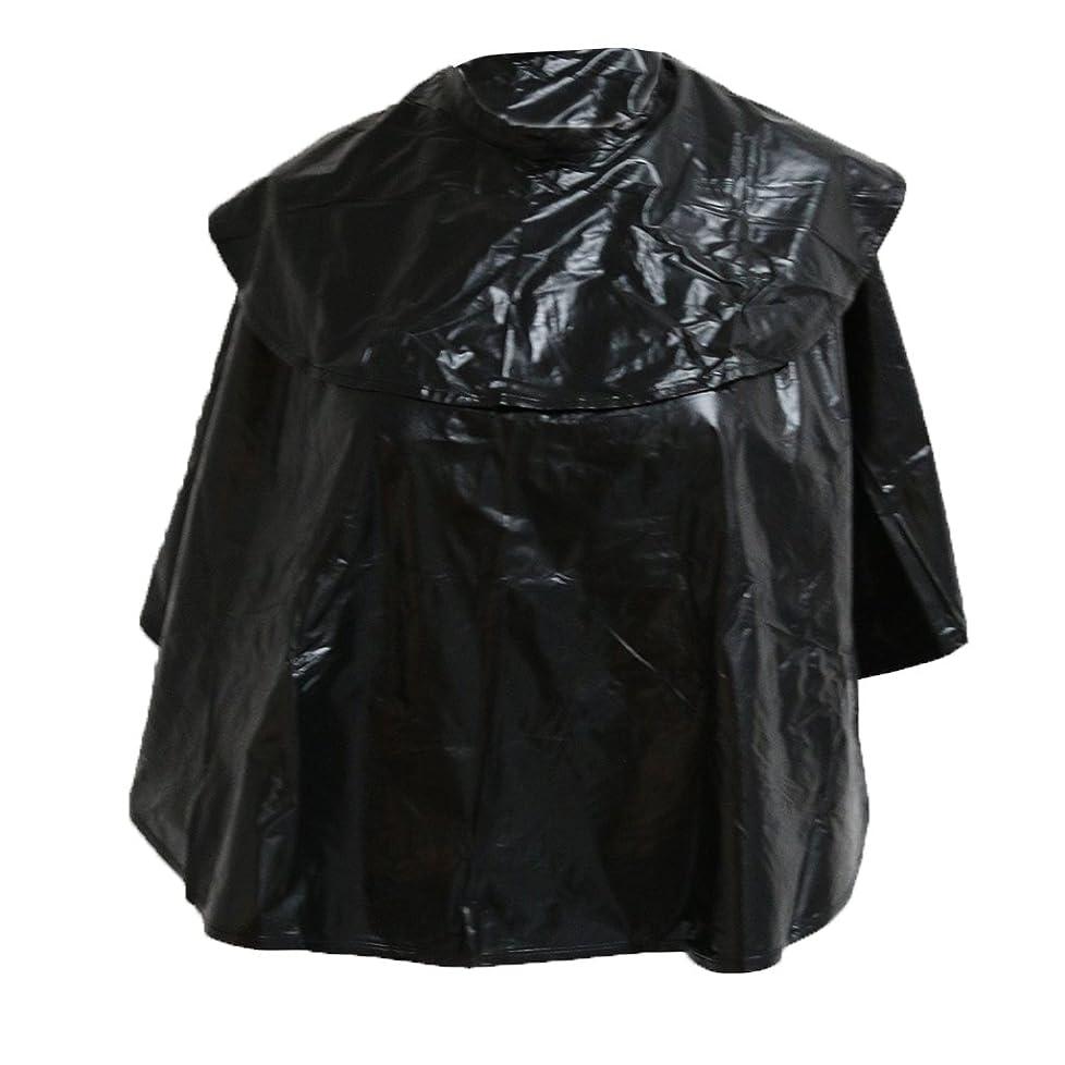 不安定事務所のスコアサロンヘアカットケープ 防水 散髪マント 散髪ケープ ヘアスタイリング 家庭 ホーム 理容室用 理髪