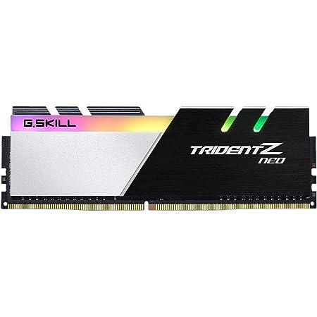 G.SKILL 16GB (2 x 8GB) Trident Z Neo Series DDR4 PC4-28800 3600 MHz 288-Pin Desktop Memory Model F4-3600C14D-16GTZNB