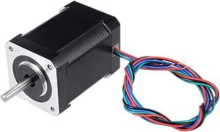 uxcell Nema 17 2-Phase Hybrid Stepper Motor Bipolar 75N.cm 63mm Body 4A 4-Lead for 3D Printer Hobby CNC