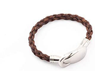 CrinTiff - Horsehair Bracelet for women - Collection Jump - Round Braid available in 4 colors