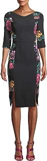 Black Halo | Prism Floral-Print ドレス | Rose Bush