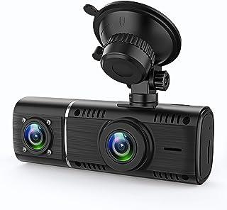 GreenGee ドライブレコーダー 前後カメラ 1080P 32GBカード付属 Gセンサー 停車監視 車内カメラ 動態監視