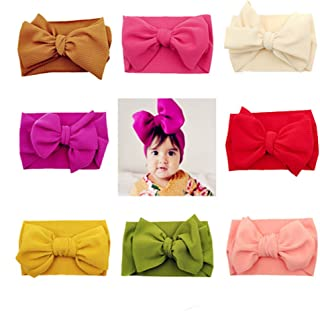 Baby Girl Headbands and Bows Turban Knotted Headbands Headwraps for Baby Hair Accessories