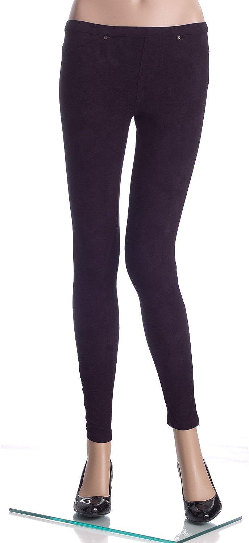 Hue Microsuede Leggings
