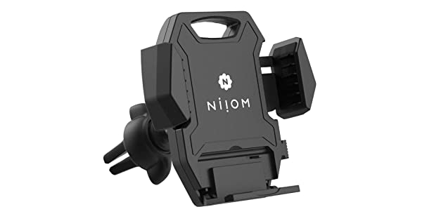 Niiom Universal Phone Mount Holder for Car Air Vent Adjustable Tight-Lock clamp securely Compatible with All Phone Models NIOM-H1-AV2S