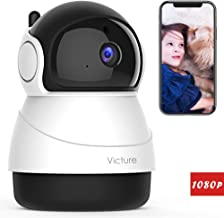 Victure FHD 1080P IP WiFi Camera Home Wireless Security Camera Romote Monitor Home Surveillance with 2-Way Audio with Night Vision Motion Detection for Baby/Pet/Elder