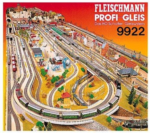 Fleischmann 9922 PROFI GLEIS Das H0 Schotter Gleissystem