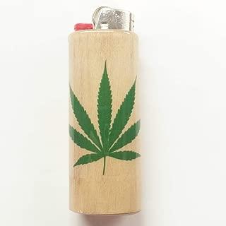 Marijuana Leaf Lighter Case, Weed, Marijuana, Ganja, Lighter Holder, Lighter Sleeve