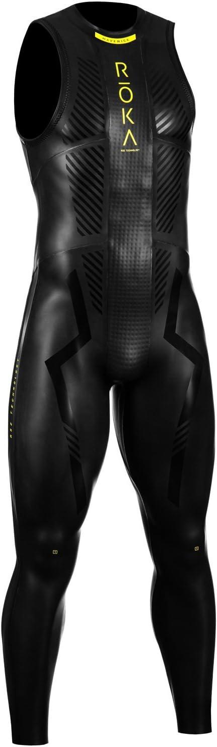 ROKA Maverick Pro II Sleeveless Men's Wetsuit for Swimming and Triathlons