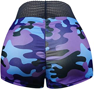Summer Ladies Shorts Loose Casual Woman Printed Basic Slip Bike Compression Workout Leggings Yoga Capris
