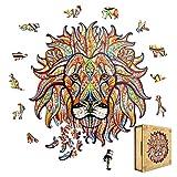 Animal Puzzle Juguetes Niños 150+ Piezas Rompecabezas para Niños Puzzles de Madera con Forma de Animal única Puzzle Regalo Niño Niña 3 4 5 6 7 8 Años