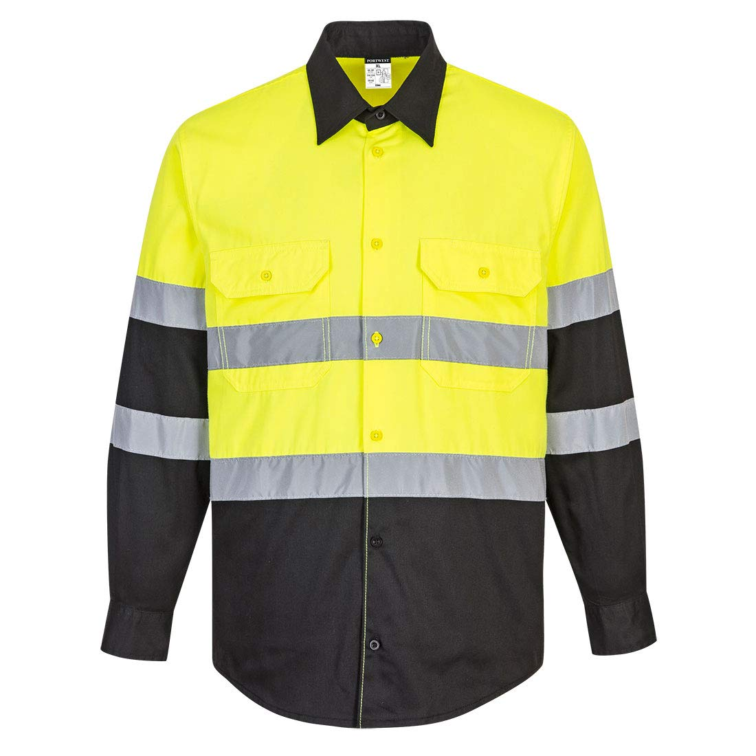 Portwest Hi-Vis Same day Chicago Mall shipping Work L Shirt S