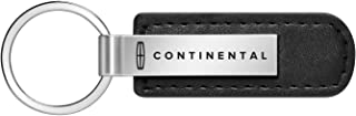 iPick Image - Lincoln Black Leather Strap Key Chain - Continental