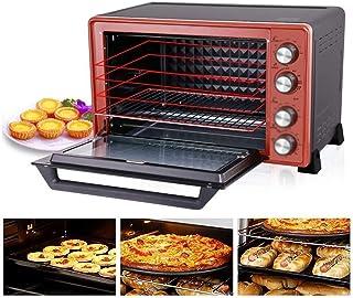 Mini Horno con bandeja de horno y la parrilla, 45L 2000W multifunción vertical horno de cocción, a 60 minutos de sincronización, superior e inferior del tubo de calefacción, la disipación de calor Dis