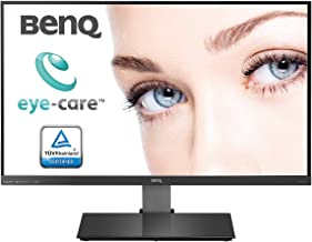 BenQ EW2775ZH, 27 inch LED Backlit Monitor-Full HD, Edge to Edge, VA Panel with VGA, Dual HDMI, Audio in, Heaphone Ports and in-Built Speakers, Brightness Intelligence and Eye Care Technology