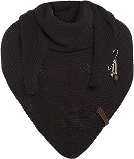 Knit Factory Coco - Pañuelo (190 x 85 cm), color marrón oscuro