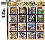 UJETML Juegos de DS Pokemon 500 en 1 Juego Cassette, NDS Game...