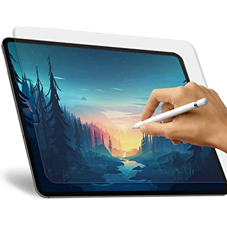 Anti Glare Scratch Resistant Paperlike Film for iPad Pro 11 Apple Pencil Compatible Paperlike iPad Pro 11 Screen Protector with Face ID