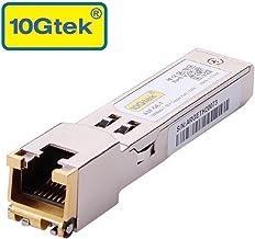 $20 Get SFP to RJ45 Copper Module - 1000BASE-T Mini-GBIC Gigabit Transceiver for Ubiquiti UF-RJ45-1G, D-Link, Supermicro, Netgear, TP-Link, Broadcom, Linksys, up to 100m
