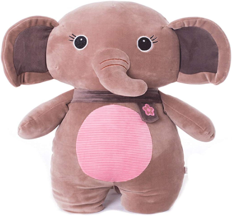 8haowenzu Plush Toy Elephant, Plush Doll Pillow Cushion, 55 cm, Birthday Present, Best Gift Ulster Models (Dimensione:5cm)