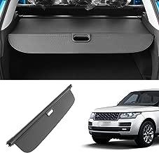 OREALTOOL Laderaumabdeckung Kofferraum Schutz Abdeckung Cargo Cover f/ür Jeep Grand Cherokee 2011-2016 Schwarz Ausziehbar Kofferraumabdeckung Rollo