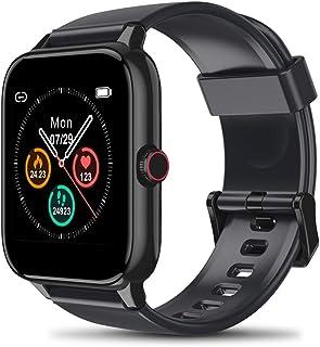 Blackview R3Pro スマートウォッチ Bluetooth5.0 smart watch フルタッチ 音楽 着信通知 line 通知 ストップウォッチ 万歩計 歩数計 腕時計 長座注意 多機能 IP68防水 防塵 iPhone/And...