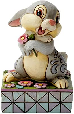 Heartwood Creek 4055428 Figurine Disney Hopping in to Spring Thumper 75th Anniversary