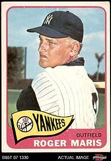 1965 Topps # 155 Roger Maris New York Yankees (Baseball Card) Dean's Cards 3 - VG Yankees