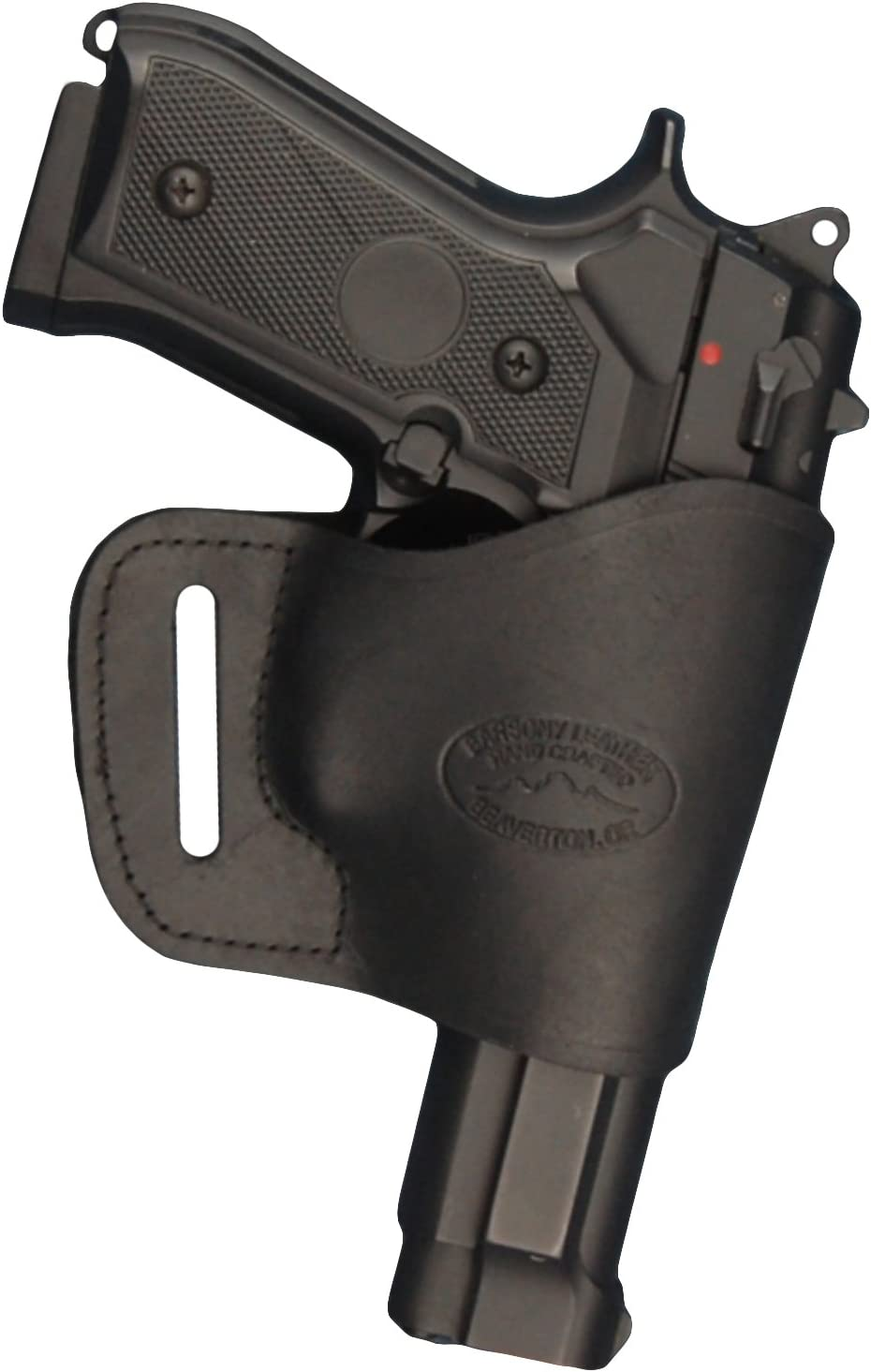 Barsony New Black Leather Yaqui Style Colorado Springs Mall Full Gun S for Superior Holster OWB
