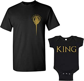 Hand of The King Matching Father Son Men's T-Shirt & Infant Bodysuit