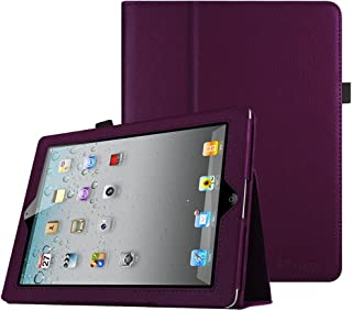 Fintie iPad 2/3/4 Case - Slim Fit Folio Stand Case Smart Protective Cover Auto Sleep/Wake Feature for Apple iPad 2, iPad 3 & iPad 4th Generation with Retina Display, Purple