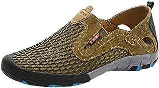 Yamall Men'S Summer Clearance High Climbing Boots Outdoor Non-Slip Hiking Shoes Men'S Sports Running Upstream
