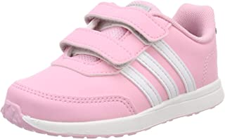 adidas Australia Baby Girls VS Switch 2 CMF Trainers, True Pink/Footwear White/Grey