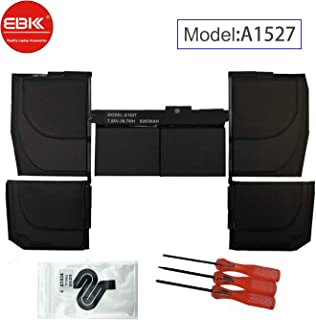 EBKK A1527 A1705 Replacement A1534 Early 2015 2016 Mid 2017 Battery for MacBook Retina 12
