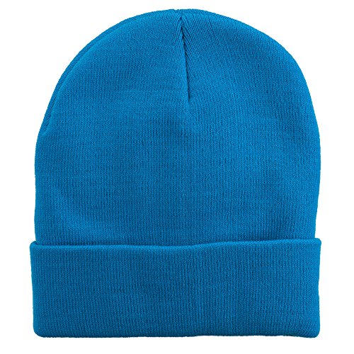MG 12 Inch Long Knitted Beanie