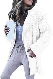 EnergyWomen Plus-Size Open Front Long Sleeve Mid-Long Velvet Outwear Coat