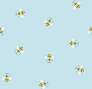 Jillson Roberts 6 Roll-Count Premium Gift Wrap Available in 16 Designs, Honey Bees