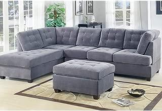 Best modern microfiber sectional sofa Reviews